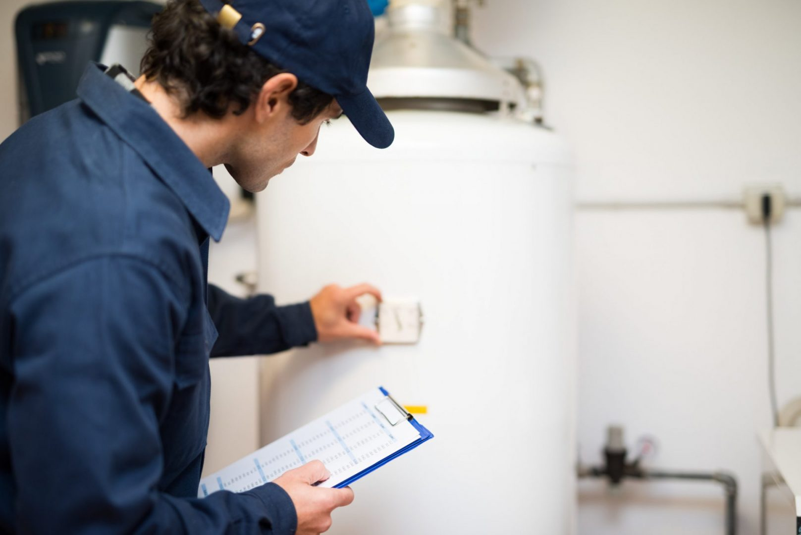 plumbing service needs to abide by social distancing for the foreseeable future